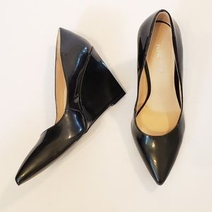 Nine West | vintageluv pointed toe wedge heels